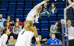 Volleyball comes back from 2-0 hole to beat DePaul
