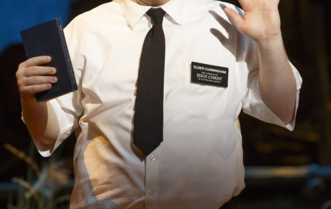 Cody Jamison Strand has performed The Book of Mormon 1,300 times.