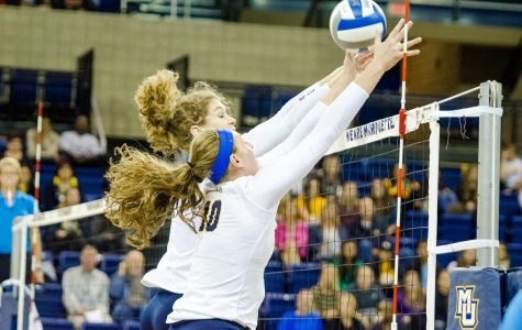 Volleyball wins two on East Coast trip
