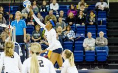 Volleyball sweeps Xavier in afternoon match