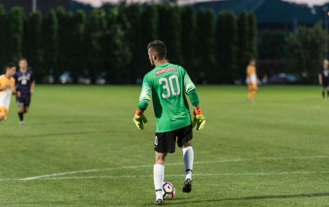 Men's soccer shut out again in loss to Wisconsin