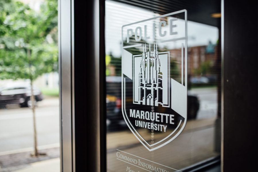 Marquette+University+Police+Department+responded+to+a+robbery+on+Kilbourn+Avenue+after+midnight+Thursday.+Marquette+Wire+stock+photo.