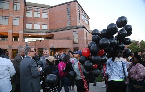 225 balloons released during Black Angels Memorial