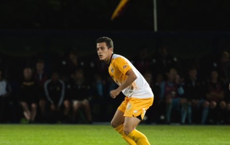 Men's soccer's offense answers bell, but falls to No. 14 Georgetown
