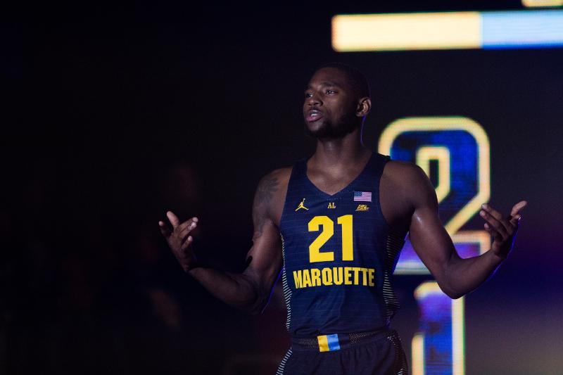 Photo Gallery: Men's basketball unveils new jerseys