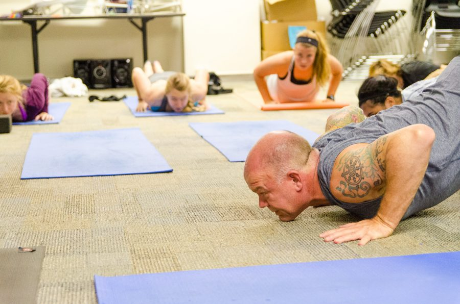 Free yoga classes help combat burnout