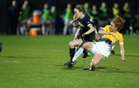 Carrie Madden leads the team in goals this season.
