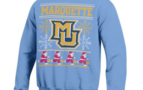 Ugly sweater seamlessly sports spirit