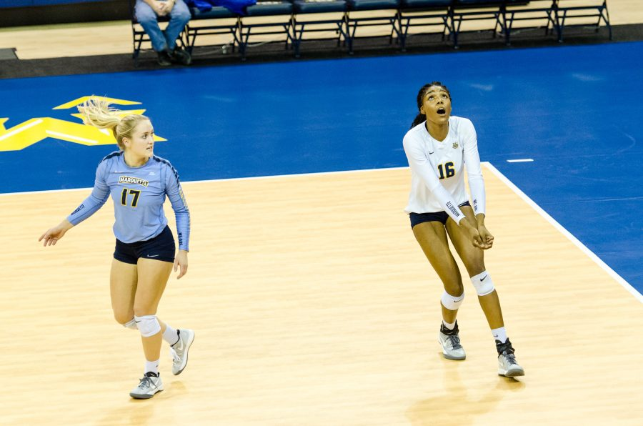 Volleyball falls in first round of BIG EAST Tournament