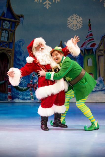 'Elf' spreads Christmas cheer