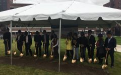 University breaks ground on upcoming residence hall project