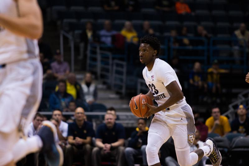 Men's basketball demolishes Vandy with pressure, 3-pointers