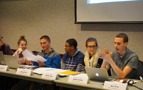 Office renovations, student organization funding and new financial vice president discussed at meeting