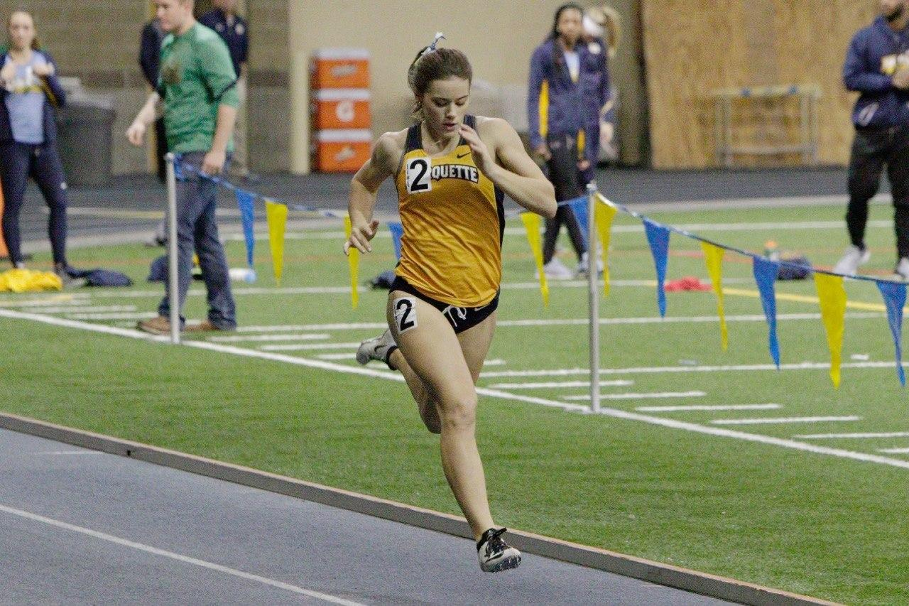 Goodrich competed in the 600-meter dash and the 4x400.