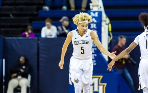 Women's basketball moves to 2-0 in BIG EAST play