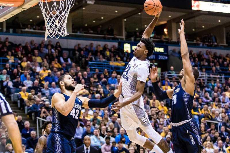 Photo Gallery: Men's basketball vs. Georgetown