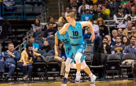 Hauser leads the way in victory against Georgia