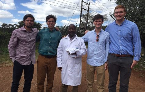 Four students hope to bring a cooperative dairy to Kenya.