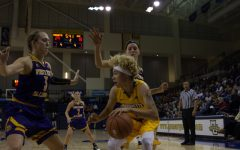Hiedeman records triple-double in win against Western Illinois
