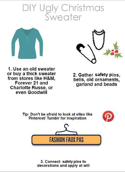 Countdown checklist of winter activities