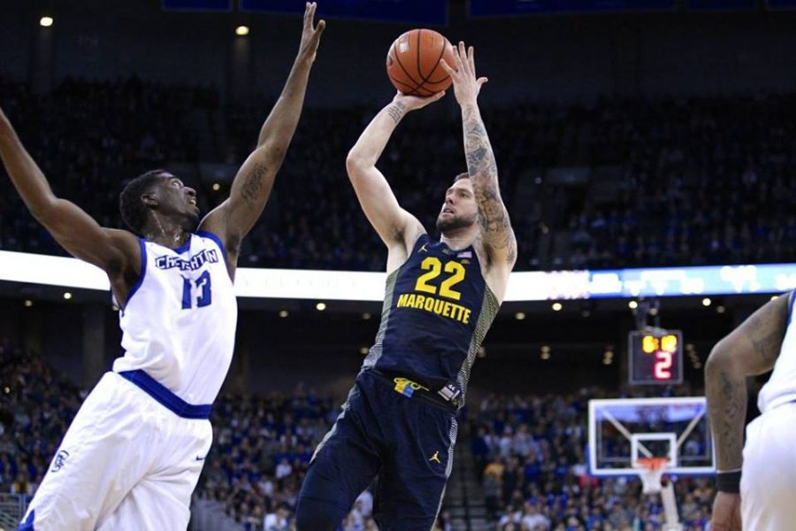 Katin+Reinhardt+scored+21+points+in+Marquette%27s+victory+against+No.+7+Creighton