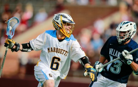 Men's lacrosse starts spring preseason with victory