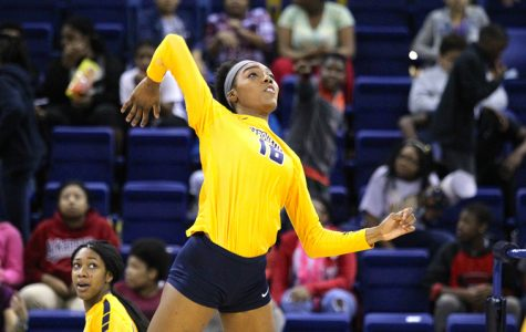 Taylor Louis is the fastest player in Marquette program history to reach 1,000 kills.