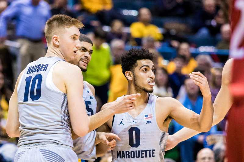 Markus+Howard+scored+a+career-high+26+points+in+Marquette%27s+88-80+loss+to+Butler.