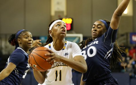 Balanced scoring propels women's basketball past Xavier in blowout
