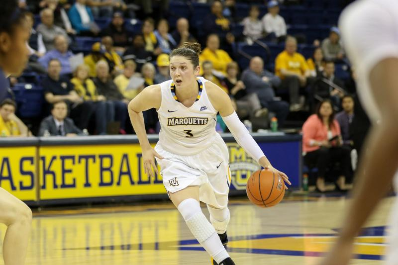 McKayla+Yentz+scored+15+points+in+Marquette%27s+victory+against+Butler.