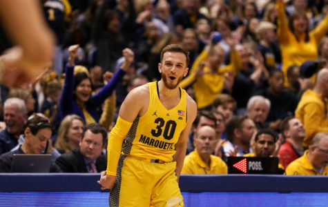 Andrew Rowsey scored 24 points in Marquette's blowout victory against DePaul.
