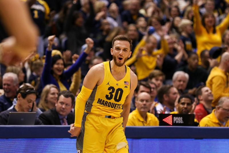 Rowsey, Marquette use first half 3-pointers to push past DePaul