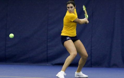 Silvia Ambrosio was successful playing doubles with Fleur Eggick this weekend.