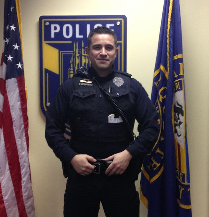 MUPD officer Daniel Hernandez discussed what it is like to be a minority police officer.