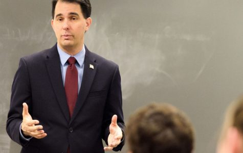Governor Scott Walker addresses College Republicans