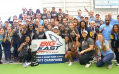 Women's track win second straight BIG EAST indoor title
