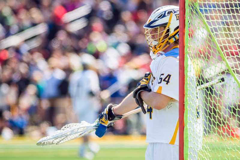 Cole Blazer didn't give up a goal in three quarters of action against Jacksonville.