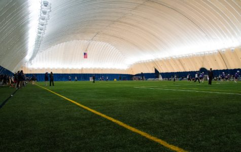 Dome already paying off for men's and women's lacrosse