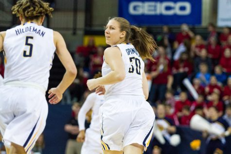 Isabelle Spingola scored a career-high 21 points against Seton Hall.