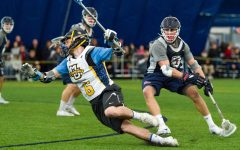 Men's lacrosse ends preseason slate with Penn, MSOE