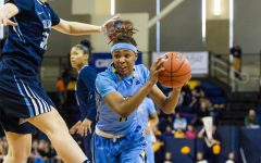 Women's basketball closes out regular season with win