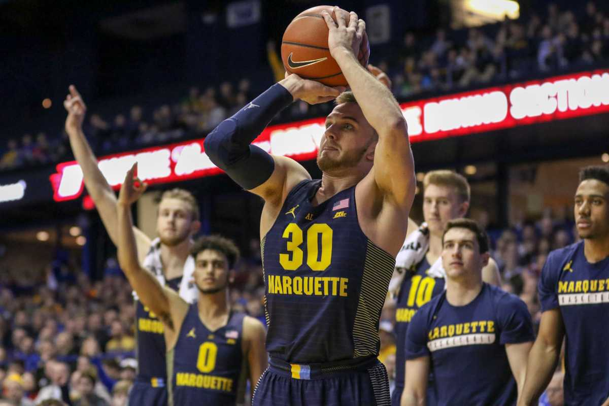 Andrew Rowsey shot 5-for-6 from 3-point range against DePaul.