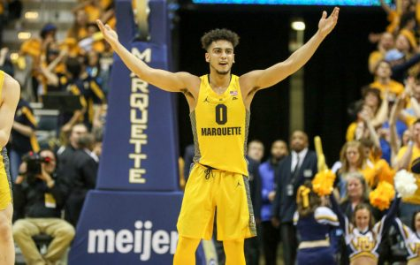 Marquette outlasts first half turmoil, defeats Northern Illinois