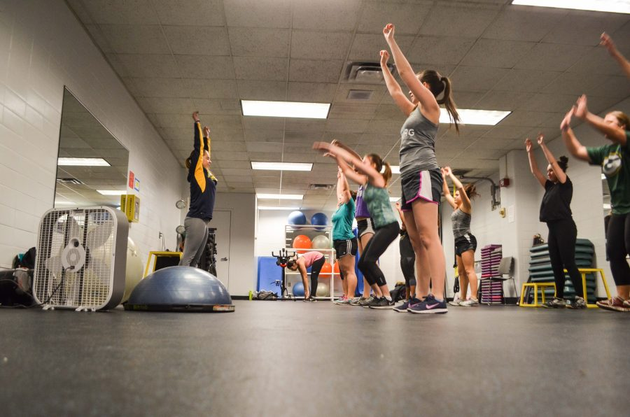 Weekly+workouts+for+CHAARG+in+the+Rec+Plex+engage+girls+in+a+variety+of+strength+training+activities.