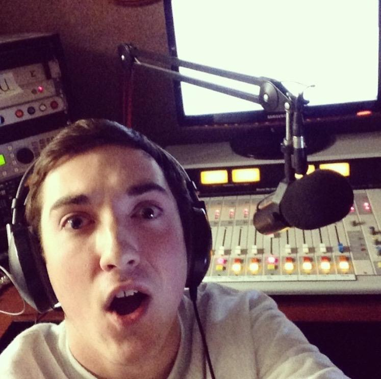 DJ TOLO in-studio as a young freshman DJ