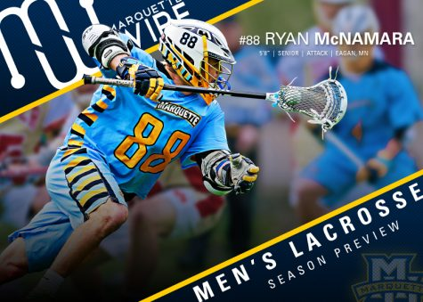 Ryan McNamara is the favorite to lead the team in scoring this season.