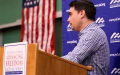 Shapiro speaking engagement goes on without hitch