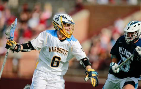 Men's lacrosse rolls against Robert Morris