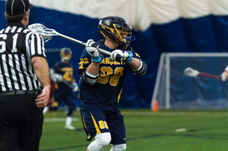 Ryan McNamara became one or six Marquette players to join Major League Lacrosse on Sunday.