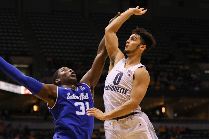Marquette fell on the road last year to Seton Hall. The Golden Eagles are currently riding a four game losing streak.